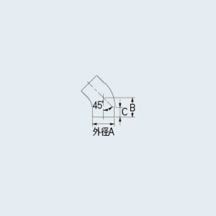 437-563-125 45°エルボ