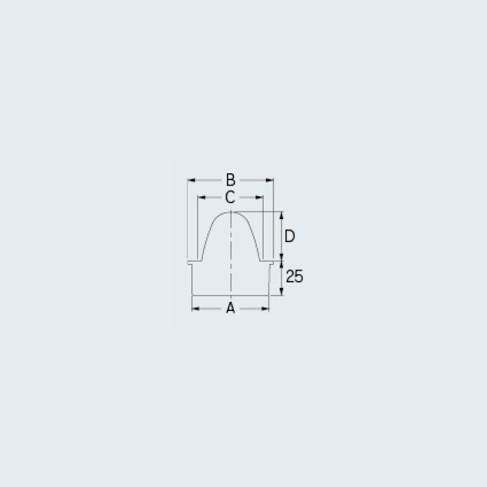 400-239-100 山型防虫目皿