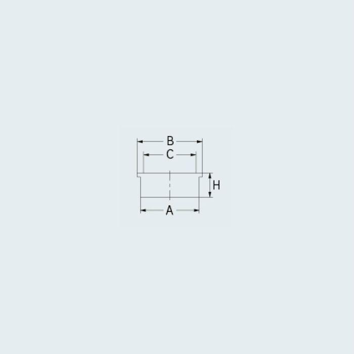 400-415-50 ハンディー掃除口(目皿つき)