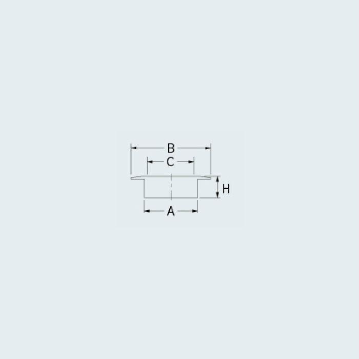 400-416-75 ハンディーツバヒロ掃除口(目皿つき)