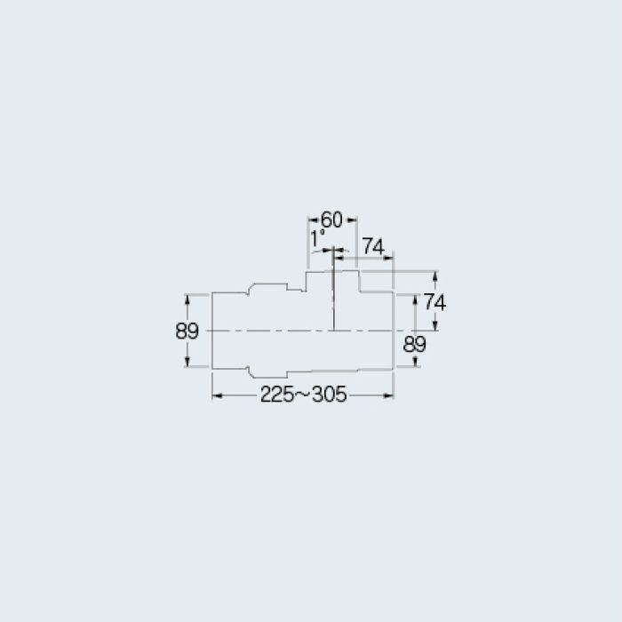 438-25-75×50S 排水用やり取りチーズ(VU用)