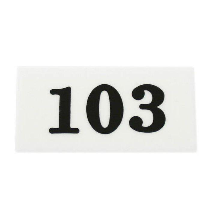UP357-103 サインプレート 部屋番号