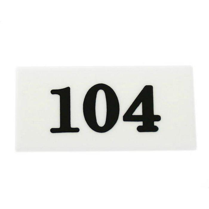 UP357-104 サインプレート 部屋番号