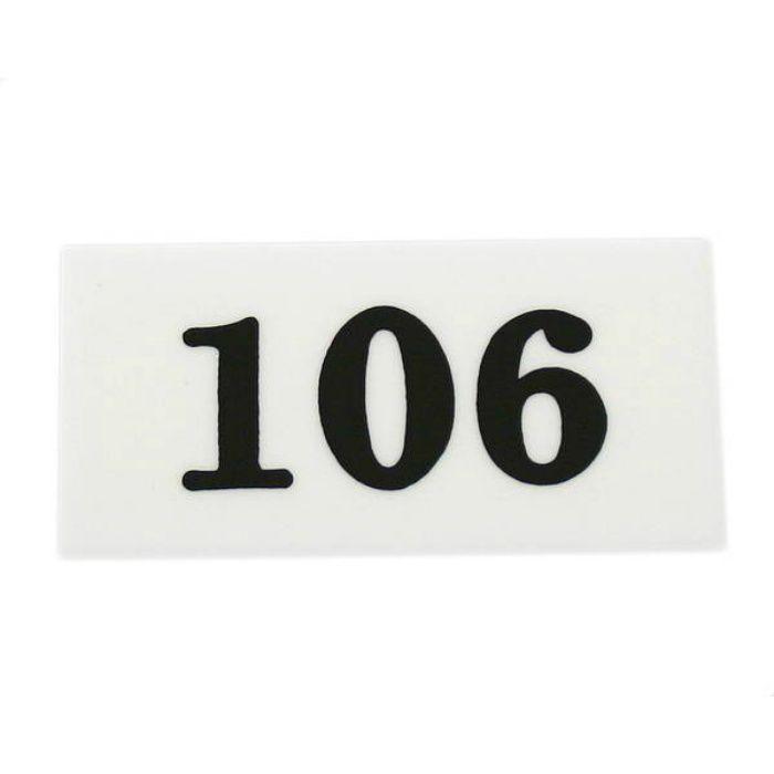 UP357-106 サインプレート 部屋番号