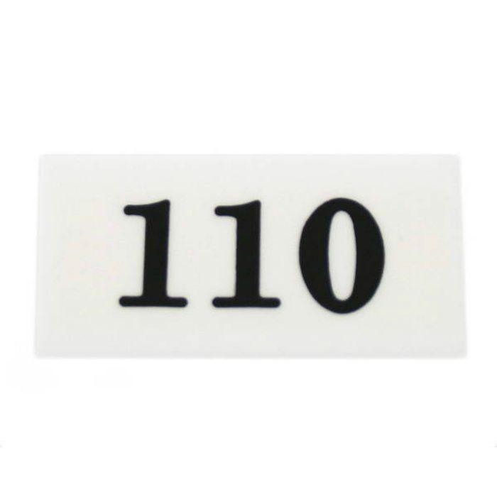 UP357-110 サインプレート 部屋番号