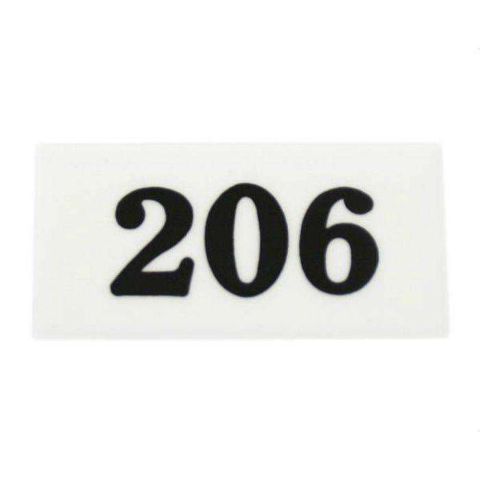 UP357-206 サインプレート 部屋番号