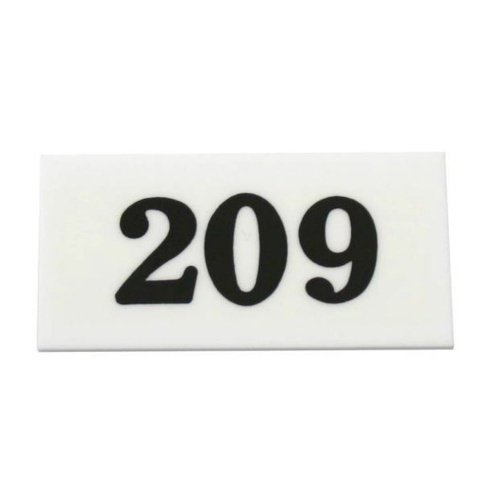 UP357-209 サインプレート 部屋番号