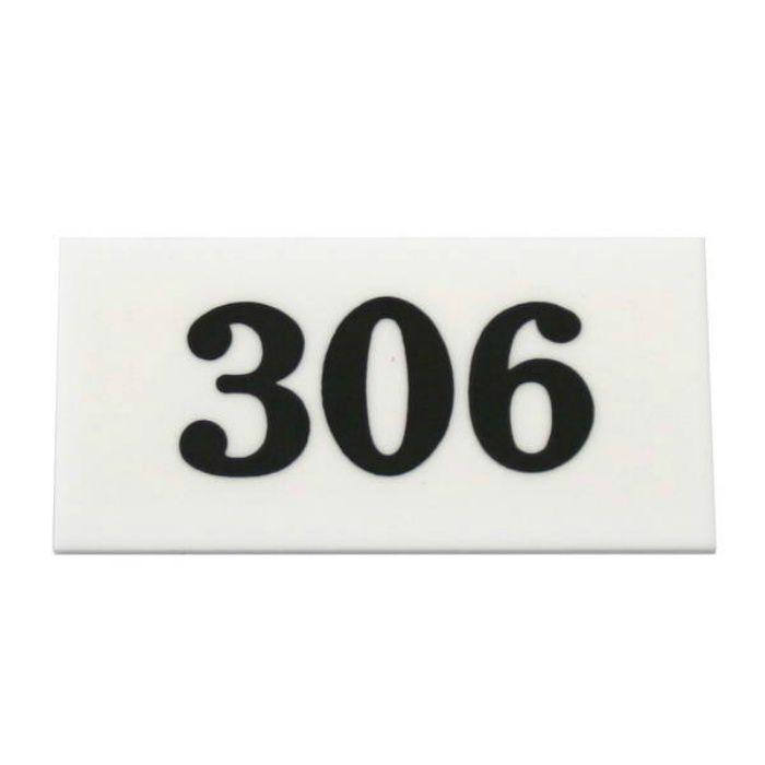 UP357-306 サインプレート 部屋番号