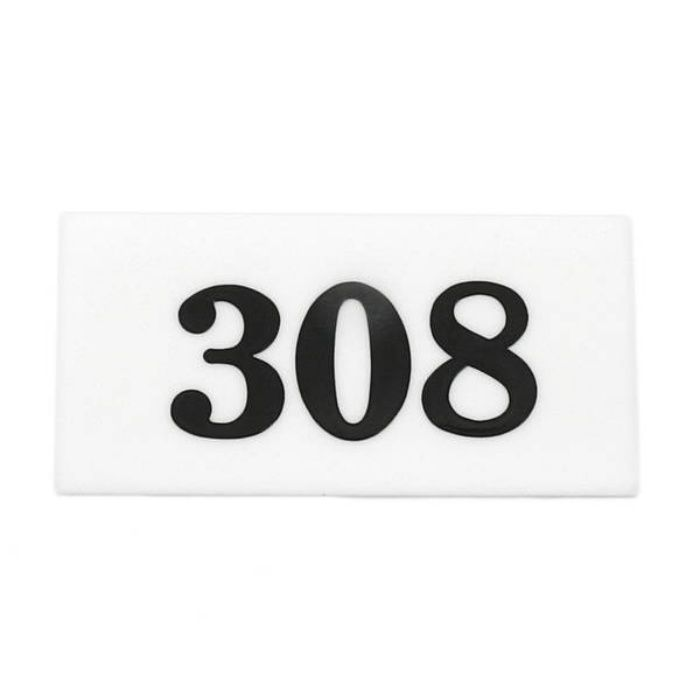 UP357-308 サインプレート 部屋番号
