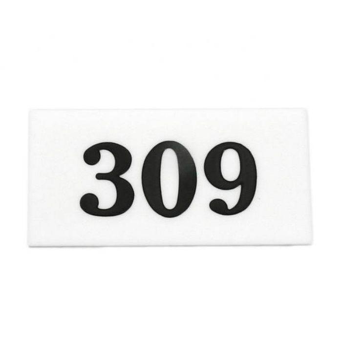 UP357-309 サインプレート 部屋番号