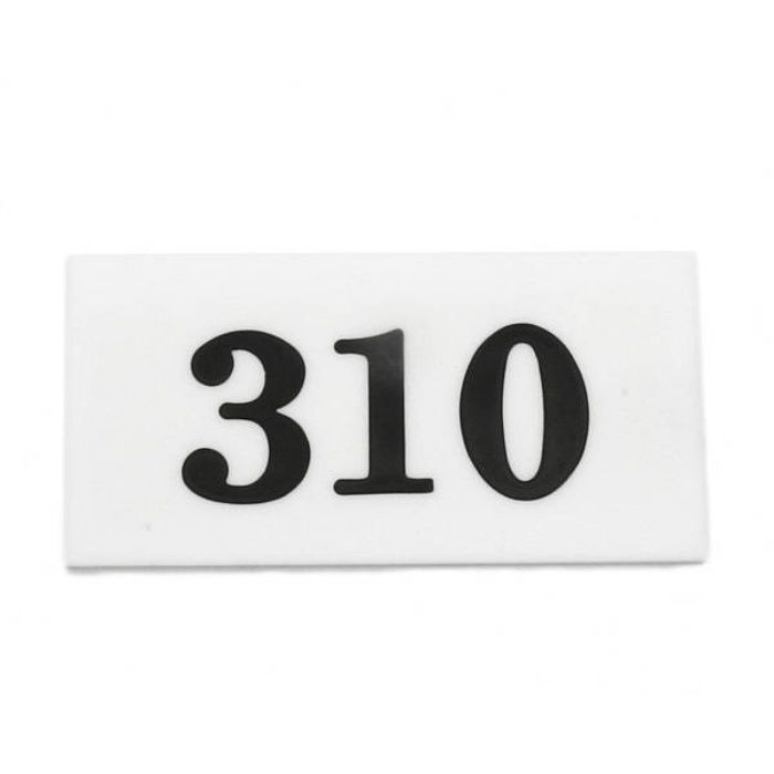 UP357-310 サインプレート 部屋番号