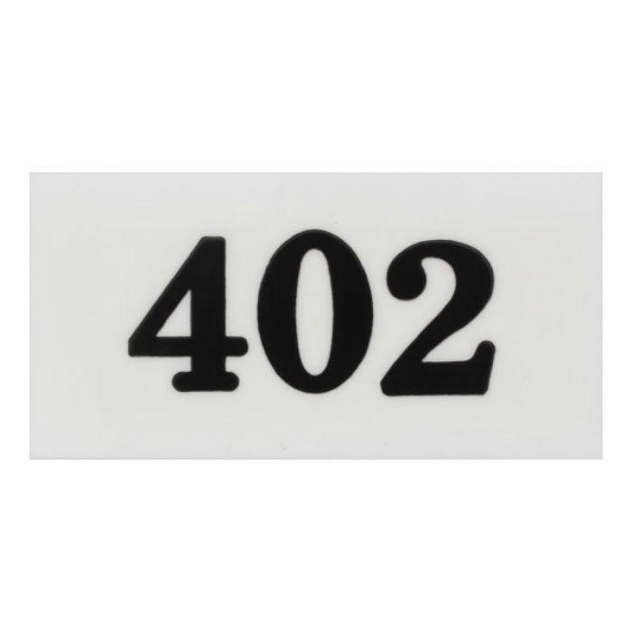 UP357-402 サインプレート 部屋番号