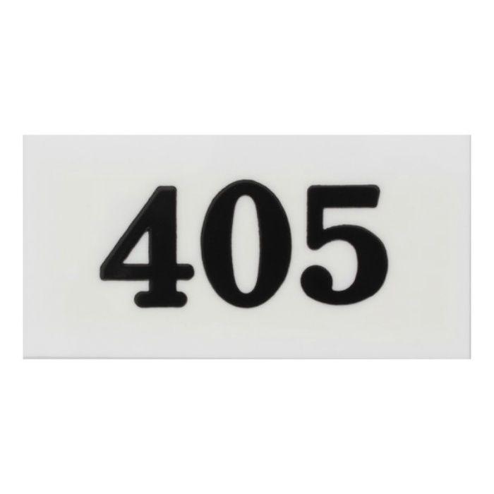 UP357-405 サインプレート 部屋番号