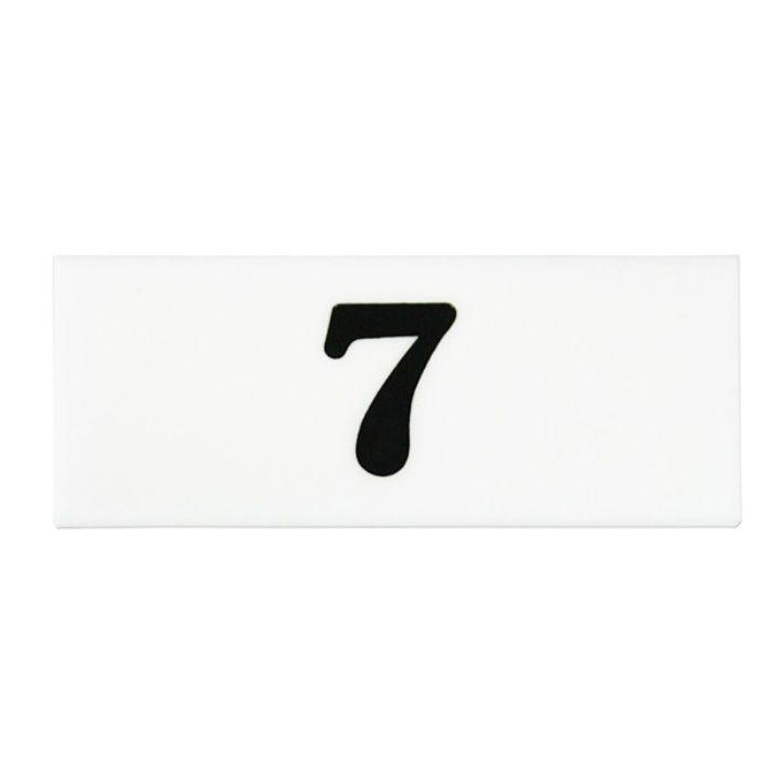 UP370A-7 サインプレート 番号