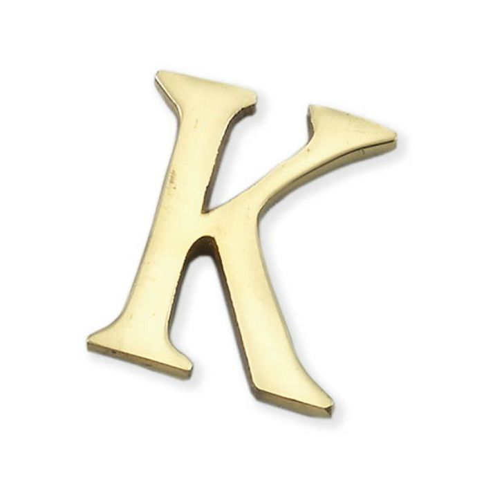 LB38-K BRASS LETTERS(真鍮文字)