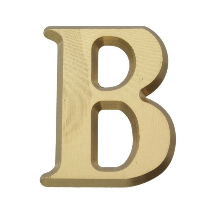 NUM43-B BRASS LETTERS(真鍮文字)