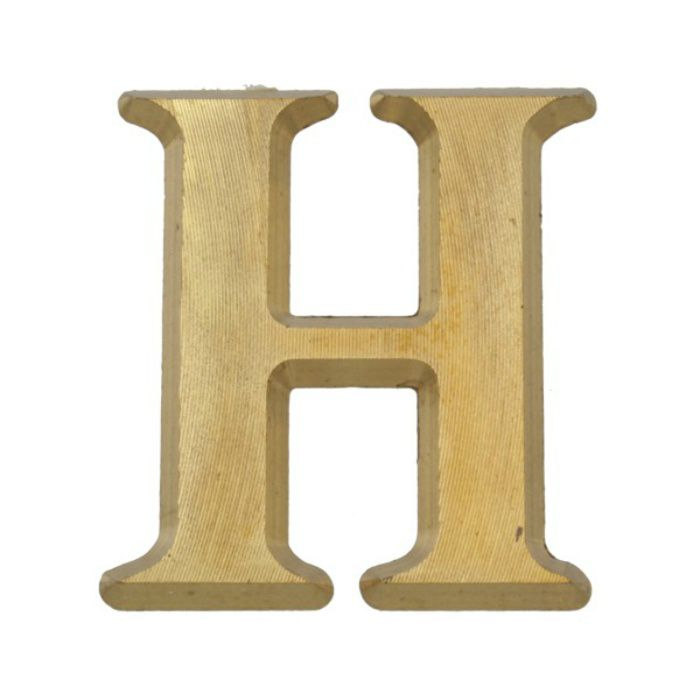 NUM43-H BRASS LETTERS(真鍮文字)