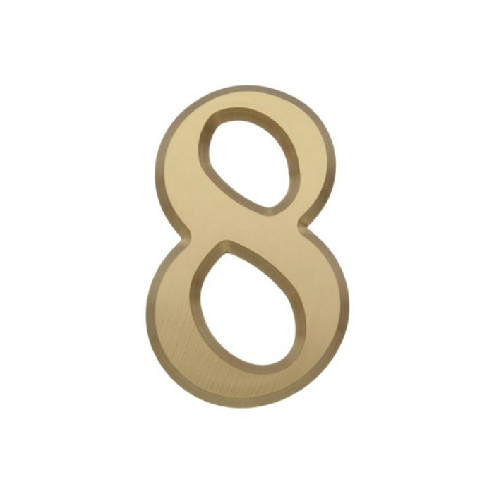 NUM55-8 BRASS LETTERS(真鍮文字)
