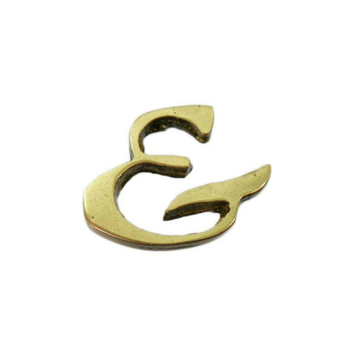 QL20-11 BRASS LETTERS(真鍮文字)