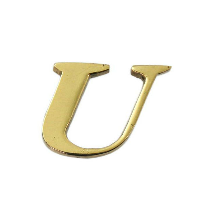 QL20-U BRASS LETTERS(真鍮文字)