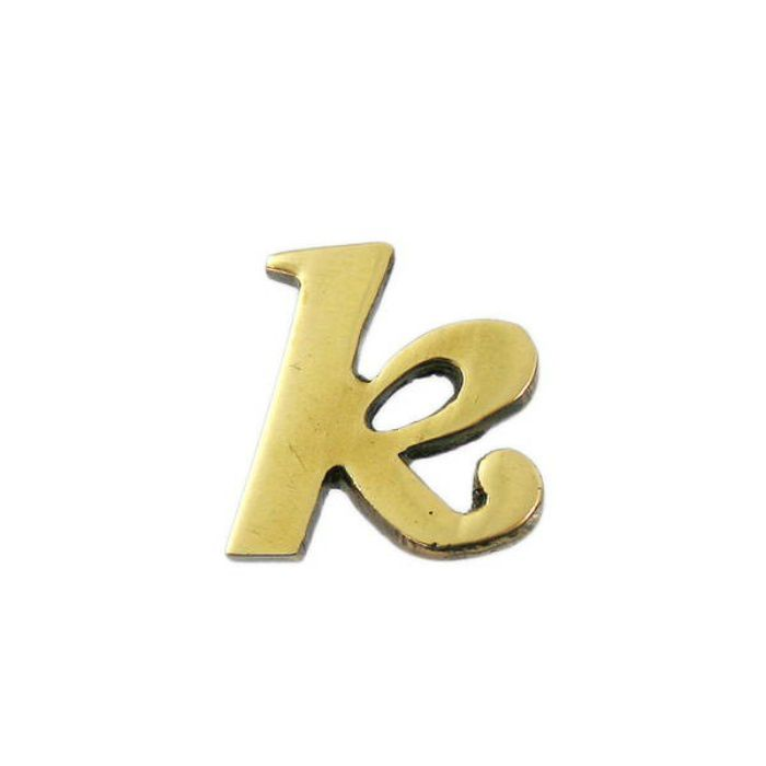 QS20-K BRASS LETTERS(真鍮文字)