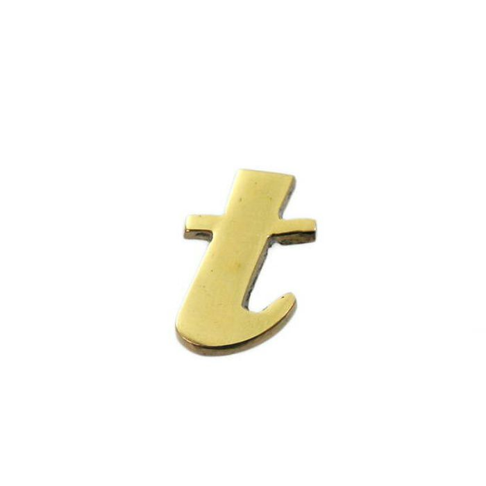 QS20-T BRASS LETTERS(真鍮文字)