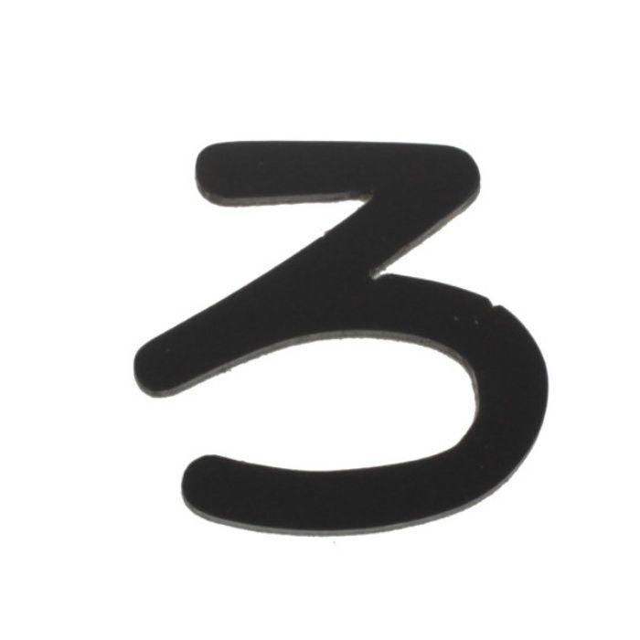 AB25B-ロ アクリル切文字 黒