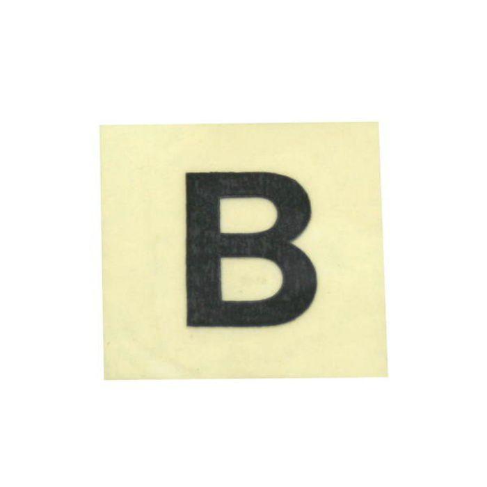 CL15B-B キャリエーター(カットシート文字) 黒 天地15mm