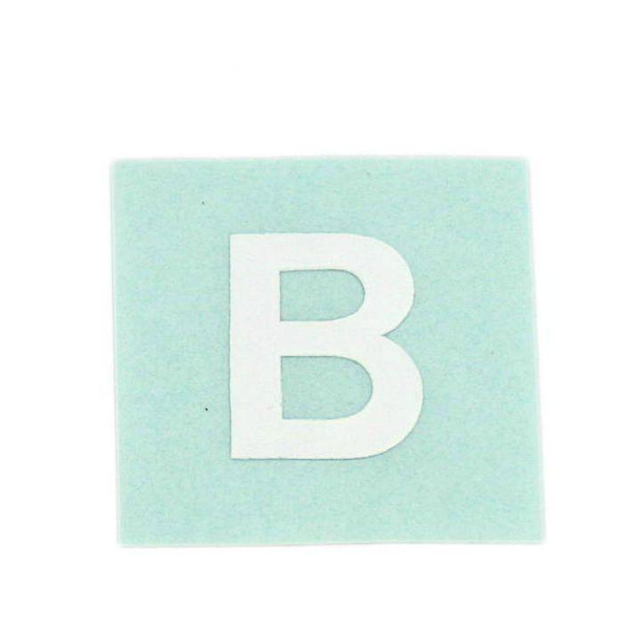 CL15W-B キャリエーター(カットシート文字) 白 天地15mm