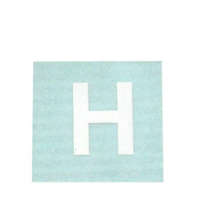 CL15W-H キャリエーター(カットシート文字) 白 天地15mm