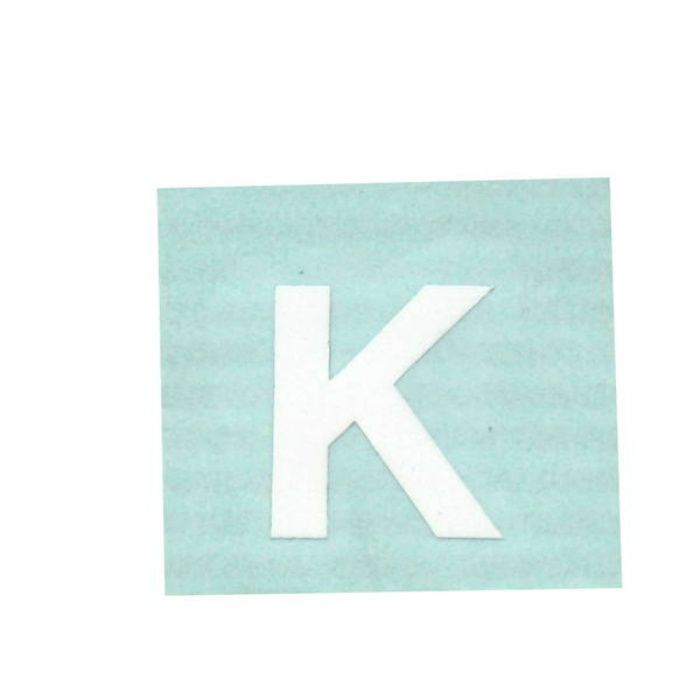 CL15W-K キャリエーター(カットシート文字) 白 天地15mm