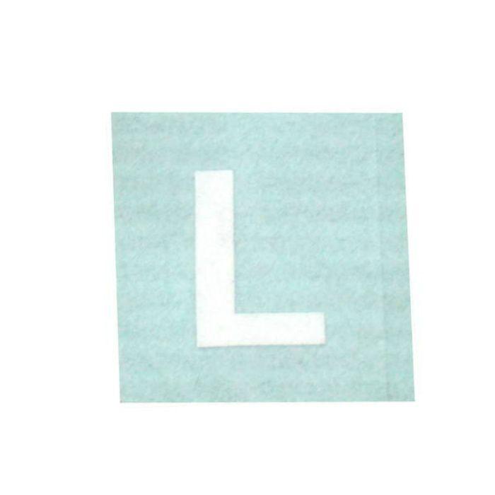 CL15W-L キャリエーター(カットシート文字) 白 天地15mm