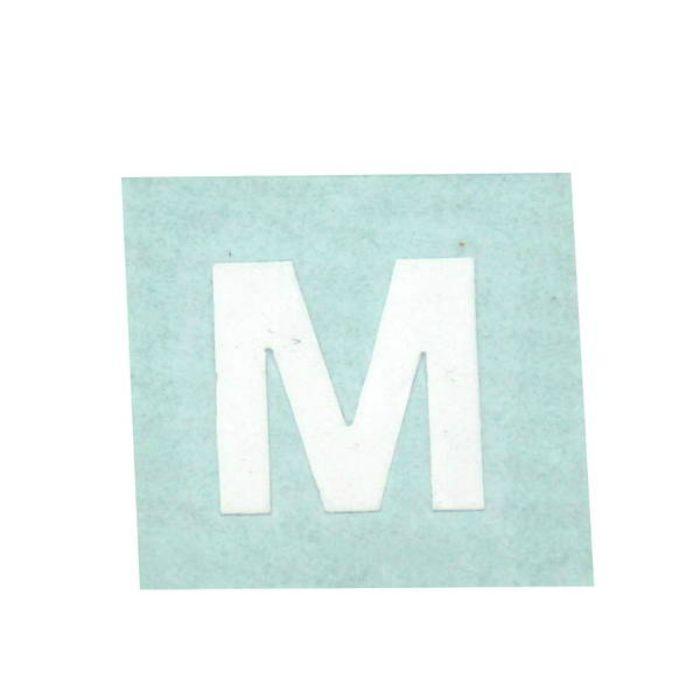 CL15W-M キャリエーター(カットシート文字) 白 天地15mm