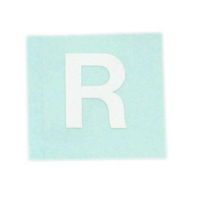 CL15W-R キャリエーター(カットシート文字) 白 天地15mm