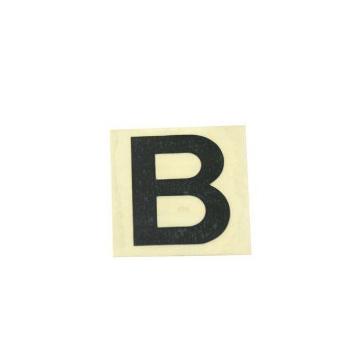 CL30B-B キャリエーター(カットシート文字) 黒 天地30mm