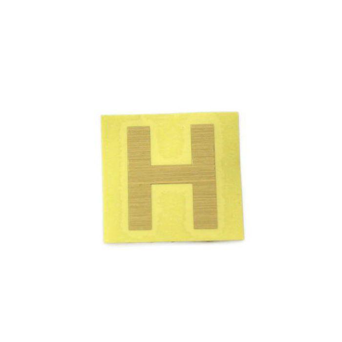 CL30G-H キャリエーター(カットシート文字) ゴールド