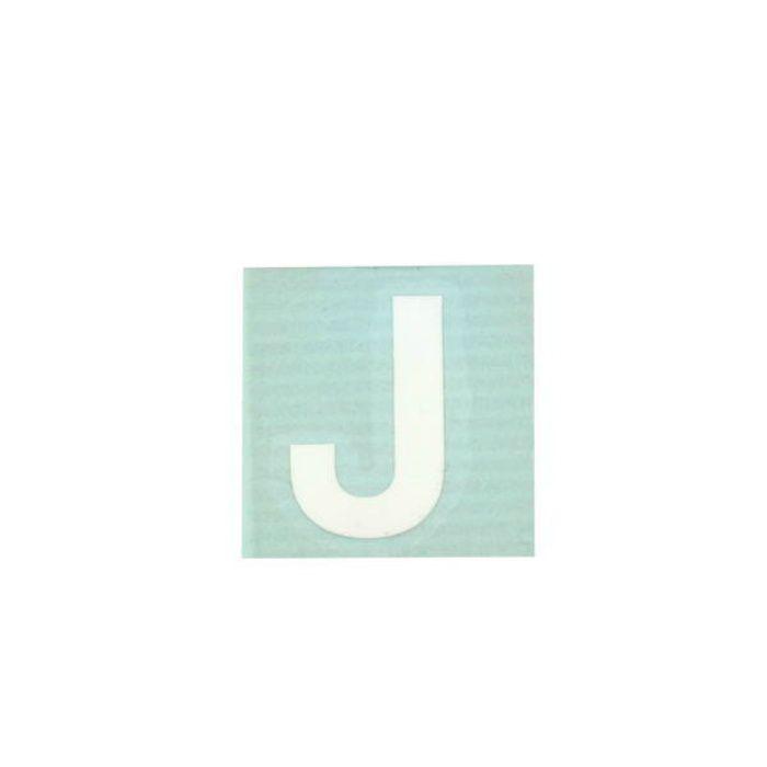 CL30W-J キャリエーター(カットシート文字) 白 天地30mm