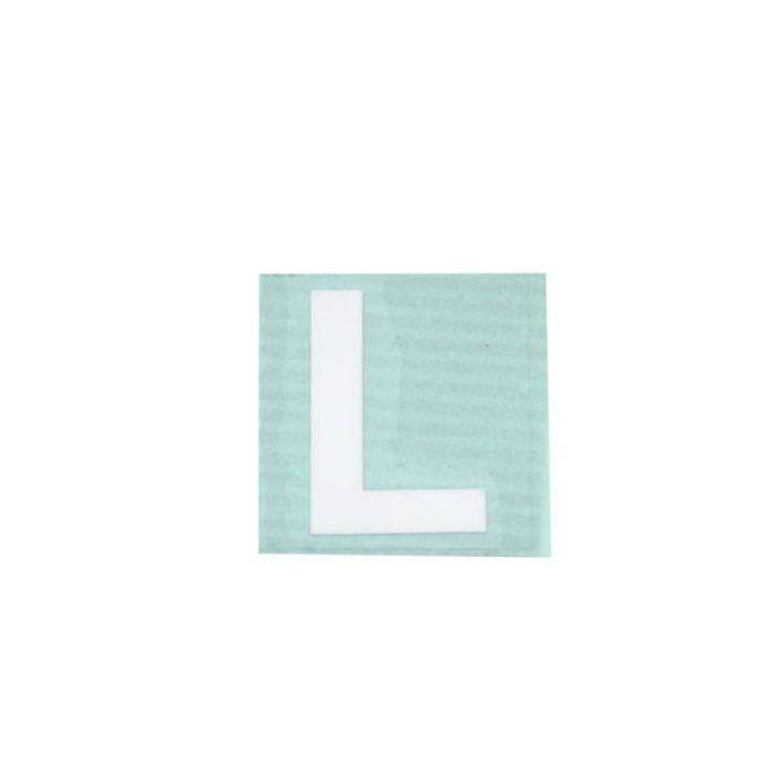 CL30W-L キャリエーター(カットシート文字) 白 天地30mm