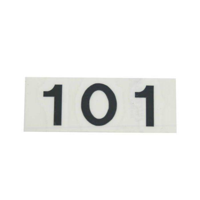 CL176-101 キャリエーター(カットシート文字・部屋番号)