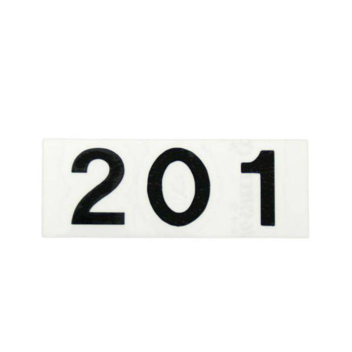 CL176-201 キャリエーター(カットシート文字・部屋番号)