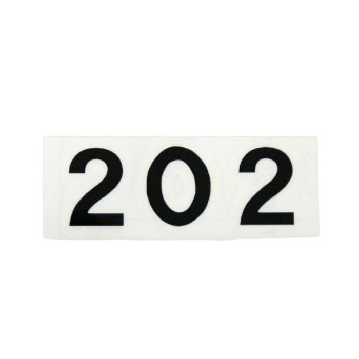 CL176-202 キャリエーター(カットシート文字・部屋番号)