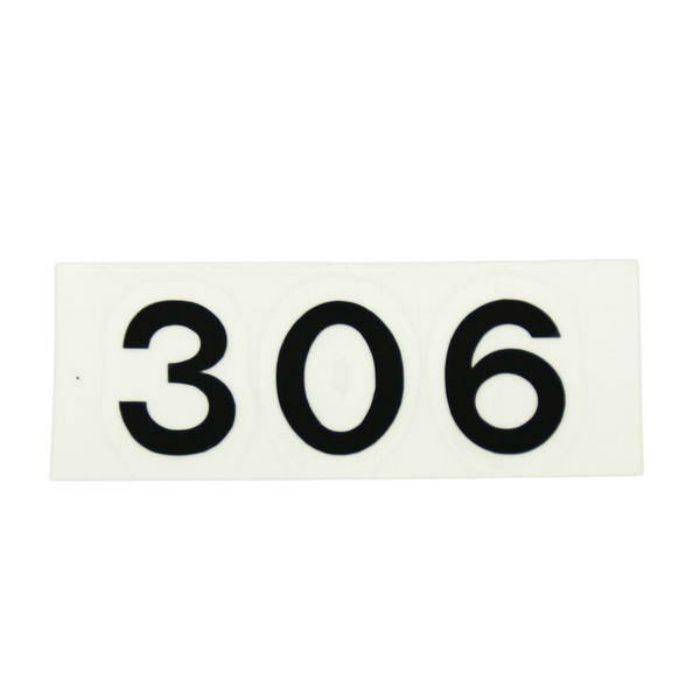 CL176-306 キャリエーター(カットシート文字・部屋番号)