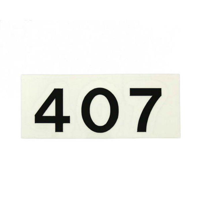 CL176-407 キャリエーター(カットシート文字・部屋番号)