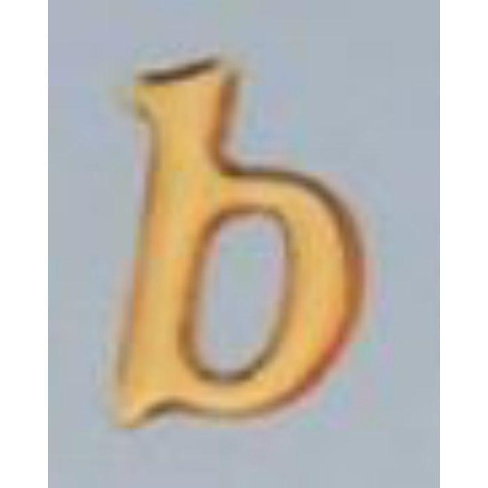 GU20-B クリスタルメタル文字 ゴールドメタル文字