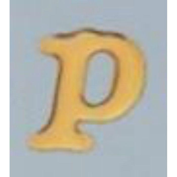 GU20-P クリスタルメタル文字 ゴールドメタル文字