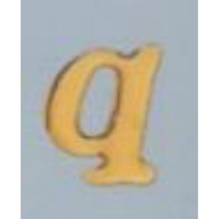 GU20-Q クリスタルメタル文字 ゴールドメタル文字