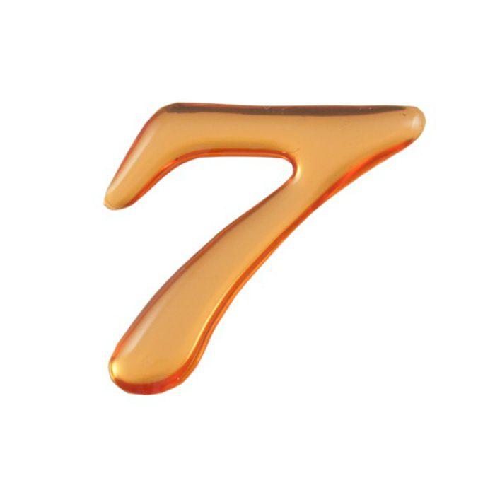 GU25-7 クリスタルメタル文字 ゴールドメタル文字 天地約25mm