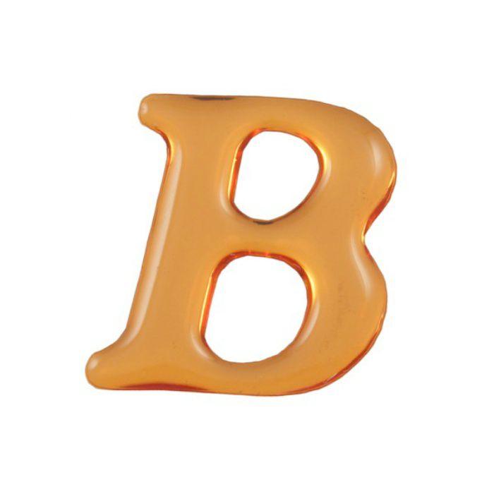 GU25-B クリスタルメタル文字 ゴールドメタル文字