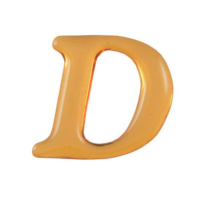 GU25-D クリスタルメタル文字 ゴールドメタル文字