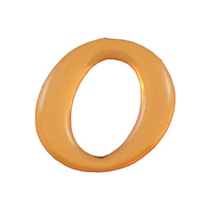 GU25-O クリスタルメタル文字 ゴールドメタル文字